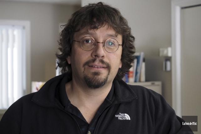 Éric Bédard, président du Syndicat de l'enseignement de... (Alain Dion, La Voix de l'Est)