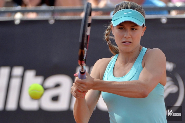 Eugenie Bouchard.... (Archives Associated Press)