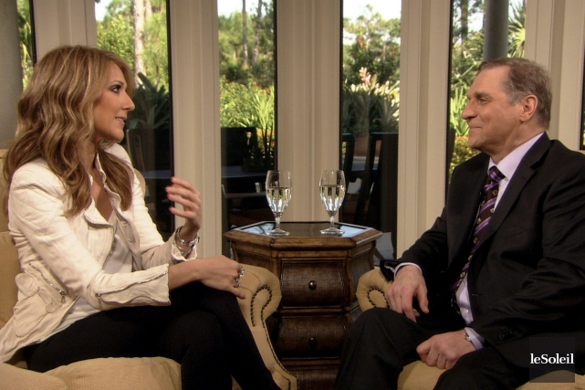 Céline Dion et Michel Jasmin... (Archives Le Soleil)