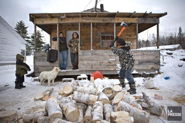 Les habitants de Lac-Barrièredoivent se rendre jusqu'à Val-d'Or,... (Patrick Sanfaçon, Archives La Presse)