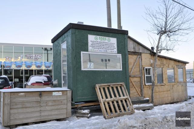 Au cours de la prochaine semaine, les cabanes... (Photo Le Quotidien, Rocket Lavoie)