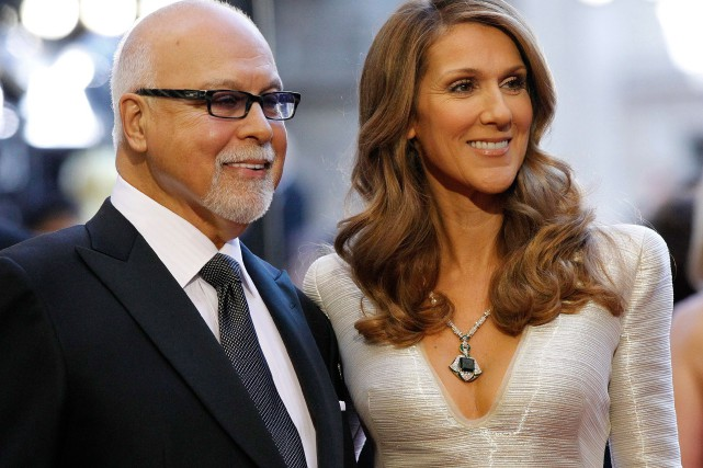 René Angélil et Céline Dion arrivent à la... (PHOTO MARIO ANZUONI, ARCHIVES REUTERS)