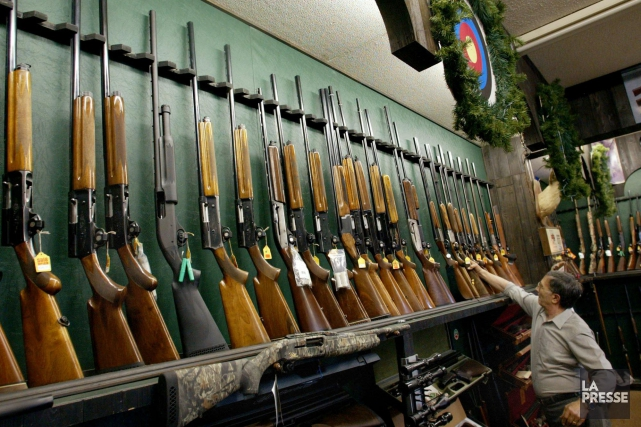 Selon l'auteur, un registre des armes d'épaule risque... (Archives La Presse Canadienne)