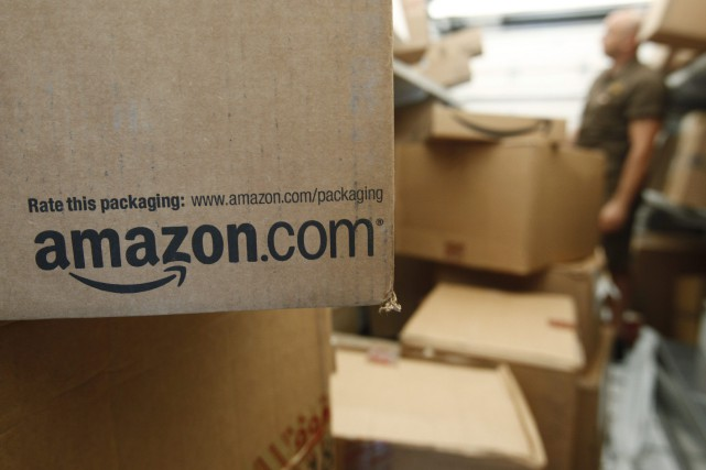 Sur la version francophone d'Amazon.ca, la nouvelle catégorie... (PHOTO ARCHIVES AP)