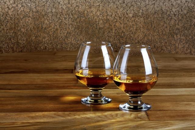 Le Cognac représente près de 70% des exportations... (PHOTO THINKSTOCK)