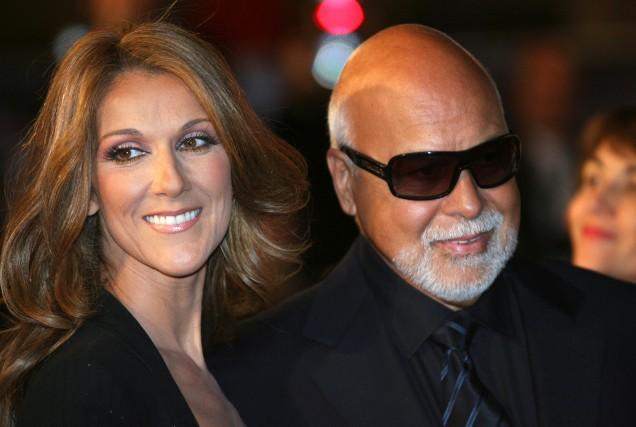 (FILES) Canadian singer Celine Dion and husband Rene... (AFP PHOTO VALERY HACHE)