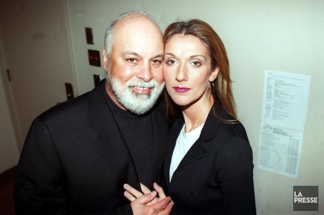 René Angélil et Céline Dion,photographiés le 15 décembre... (PHOTO DENIS COURVILLE, ARCHIVES LA PRESSE)