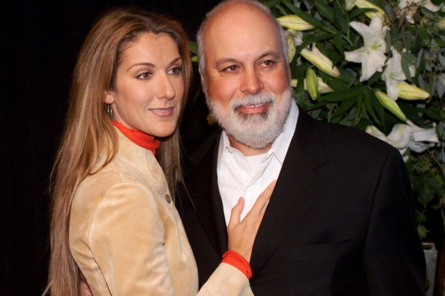 Céline Dion et René Angélil lors d'une cérémonie... (PHOTO RICHARD DREW, ARCHIVES ASSOCIATED PRESS)