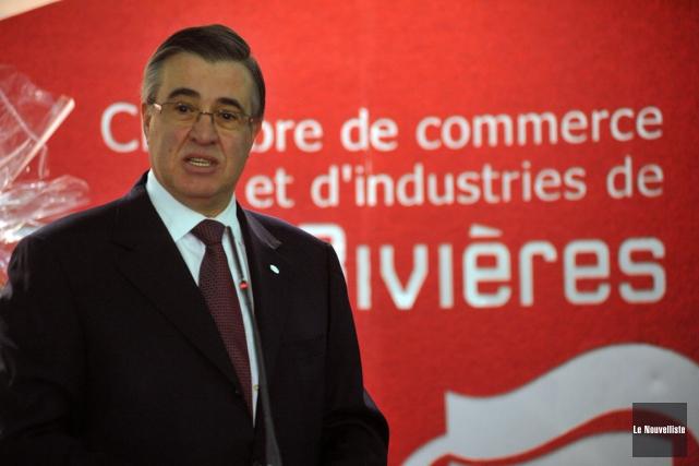L'ancien président de Deloitte au Québec, Luc Villeneuve.... (PHOTO STÉPHANE LESSARD, ARCHIVES LE NOUVELLISTE)