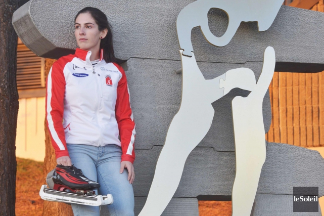 Noémie Fiset, 21 ans,a pris le 18erang de... (Le Soleil, Jean-Marie Villeneuve)