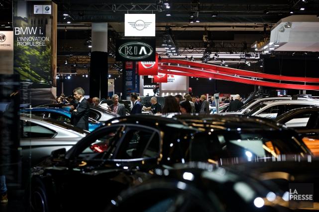 Pas moins de 500 voitures de 43 marques... (PHOTO ANDRÉ PICHETTE, LA PRESSE)