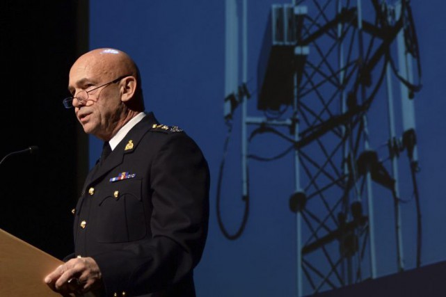 Le commissaire de la Gendarmerie royale du Canada,... (Sean Kilpatrick, PC)
