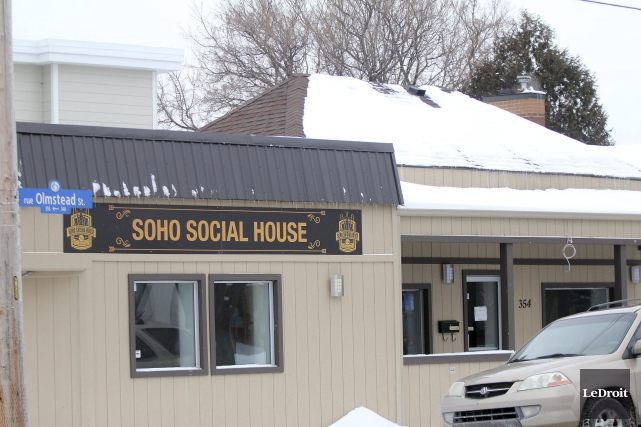 Un des établissement saisis, le Soho Shisha House,... (Etienne Ranger, LeDroit)