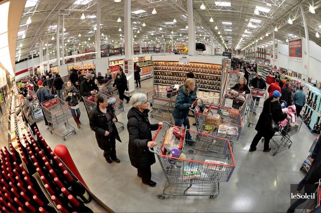 L'arrivée de Costco (photo) et de Walmart sur... (Photothèque Le Soleil, Patrice Laroche)
