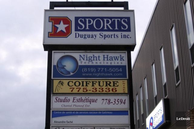 Le collège informatique Night Hawk était situé au... (Patrick Woodbury, Archives LeDroit)