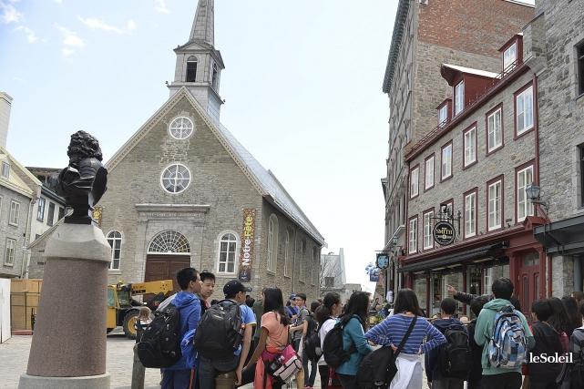 Les touristes sont de plus en plus cultivés... (Photothèque Le Soleil, Patrice Laroche)