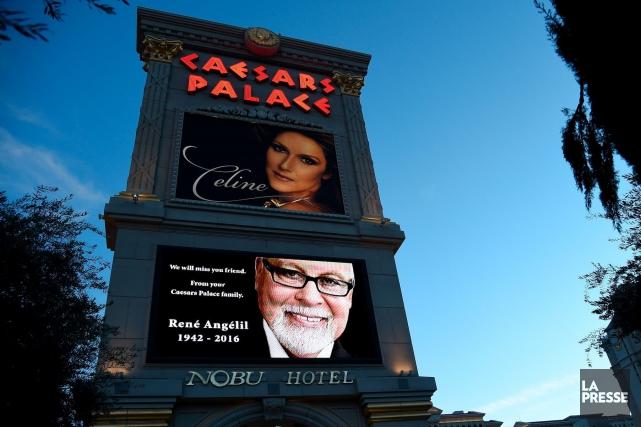 À Las Vegas, le Caesars Palace a rendu... (AFP)