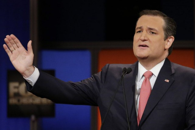 Les attaques à l'endroit de Ted Cruz surprennent... (Chuck Burton, Associated Press)
