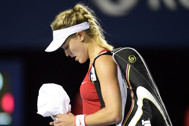 Eugenie Bouchard... (PHOTO ARCHIVES LA PRESSE CANADIENNE)