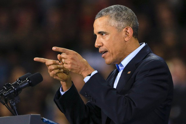 Barack Obama a appelé à combattre l'EI plus... (Photo Nati Harnik, AP)