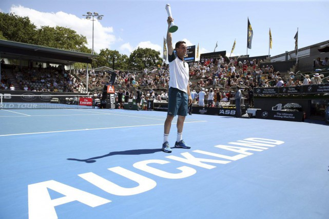 Roberto Bautista Agut... (PHOTO MICHAEL BRADLEY, AFP)