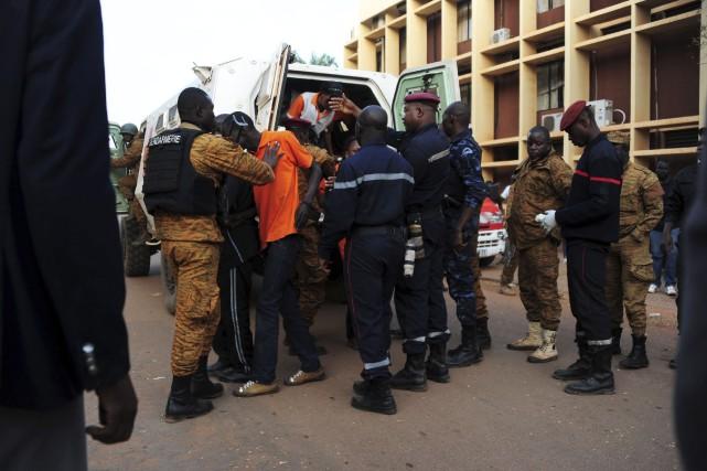 Un total de 126 personnes, dont 33 blessées,... (AFP, Ahmed Ouoba)