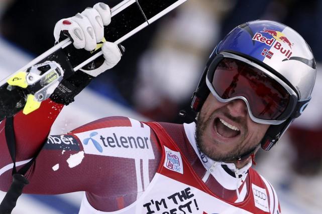 Aksel Lund Svindal... (PHOTO ALESSANDRO TROVATI, AP)