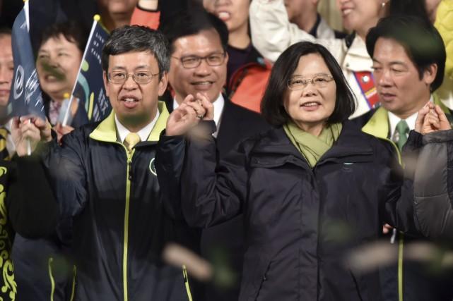 Le nom de la chef du Parti démocratique... (AFP, Philippe Lopez)