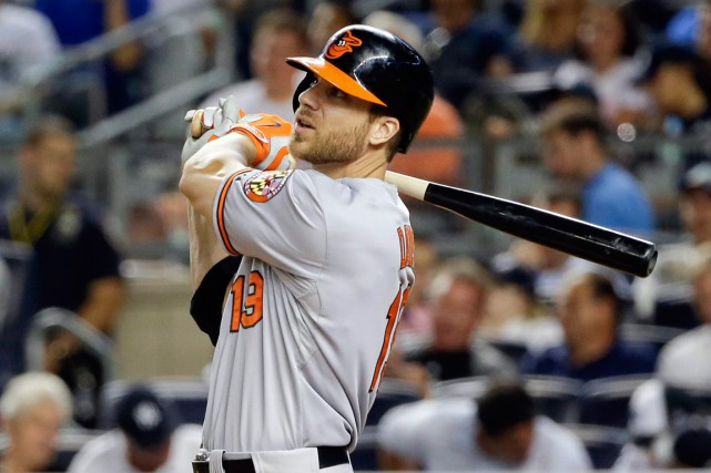 Chris Davis... (PHOTO FRANK FRANKLIN II, ARCHIVES AP)