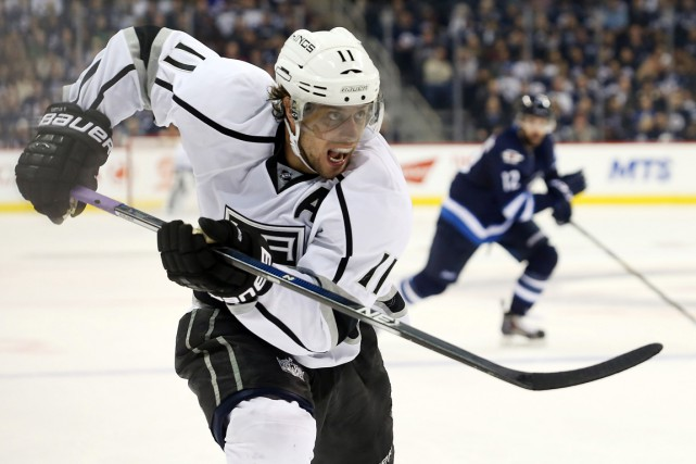 Anze Kopitar... (PHOTO BRUCE FEDYCK, ARCHIVES USA TODAY)