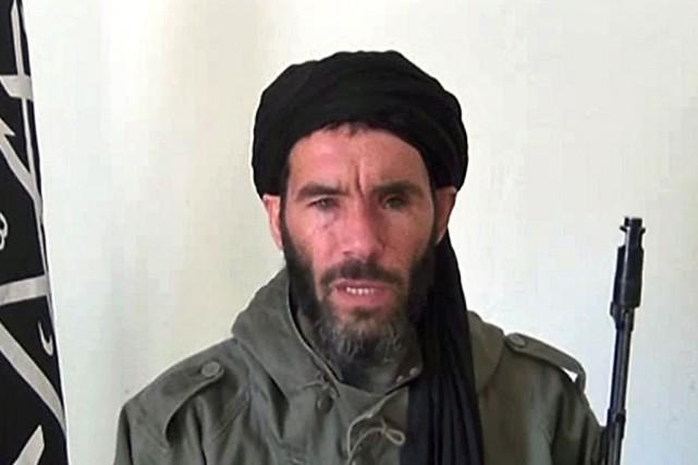 Le chef djihadiste algérien Mokhtar Belmokhtar... (PHOTO ARCHIVES AFP/COURTOISIE)