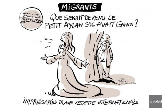 Une caricature du dernier numéro deCharlie Hebdo, qui faisait référence... (Le Soleil, André-Philippe Côté)