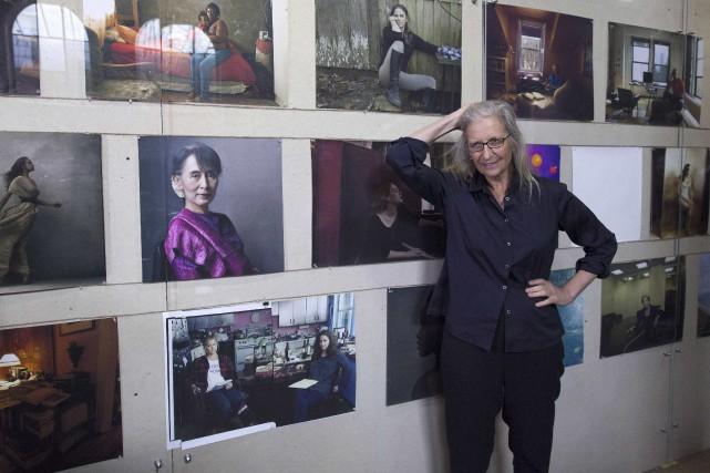 L'exposition montre des «femmes à la réussite exceptionnelle»,... (AFP, Justin Tallis)