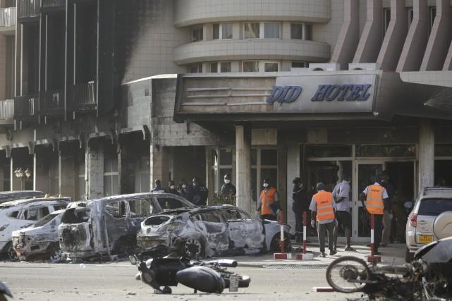 Une attaque a secoué vendredi la capitale du Burkina Faso Ouagadougou faisant... (Photo Sunday Alamba, AP)