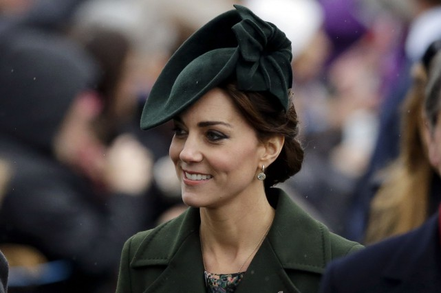 La duchesse Kate concentrera son attention sur des articles... (AP, Matt Dunham)
