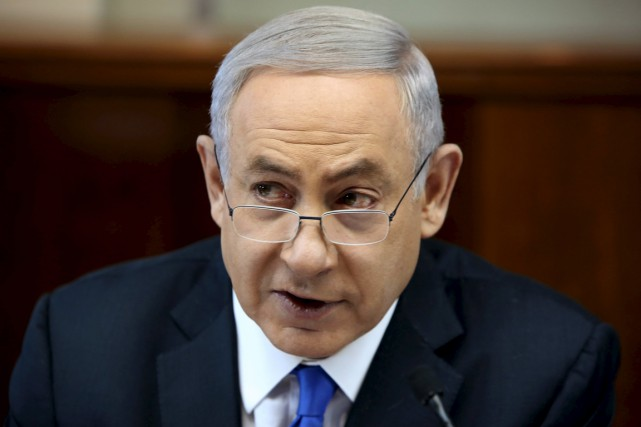Le PM israélien Benyamin Nétanyahou... (Photo Gali Tibbon, Reuters)