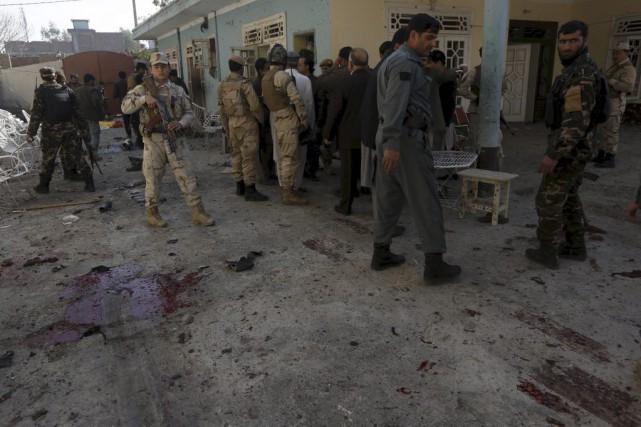 Jalalabad, grande ville située non loin de la... (Photo Reuters)
