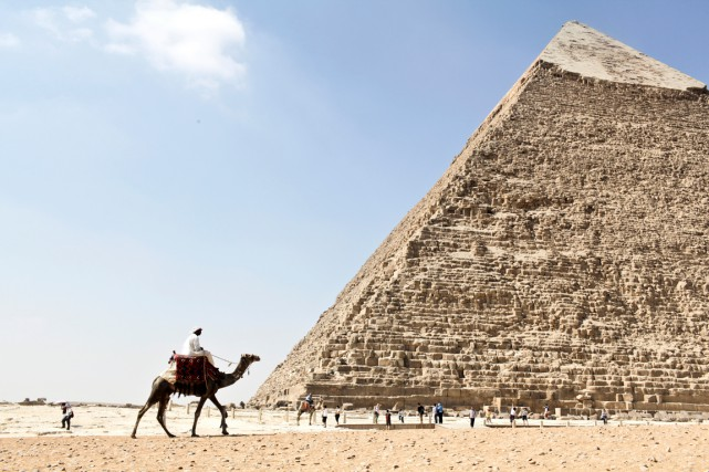 La Grande Pyramide de Guizeh... (PHOTO SHAWN BALDWIN, ARCHIVES BLOOMBERG)