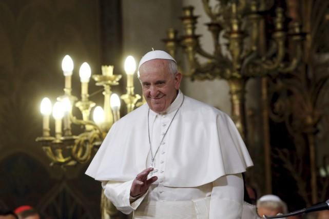 Le pape Françoisaccorde une très grande importance à... (Photo ALESSANDRO BIANCHI, Reuters)