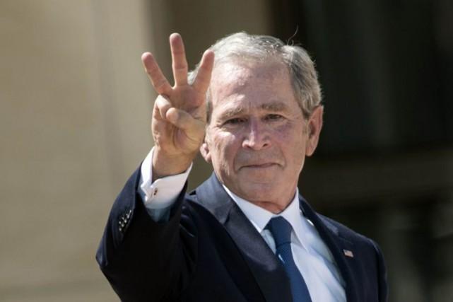 George W. Bush... (Archives AFP)