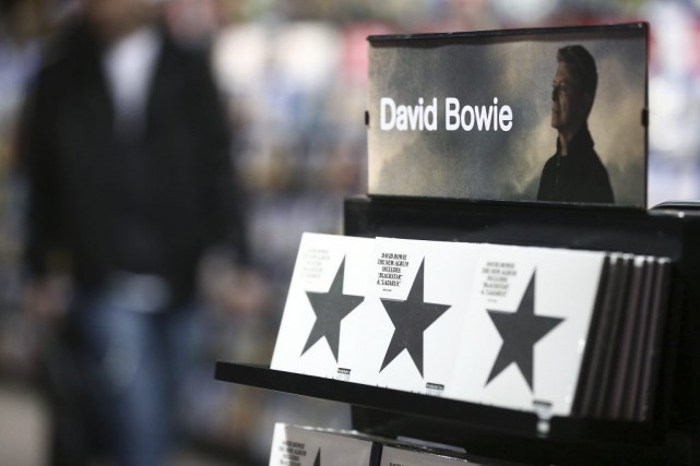 La mort deDavid Bowiea présentéBlackstarsous un jour nouveau,... (Justin Tallis, AFP)