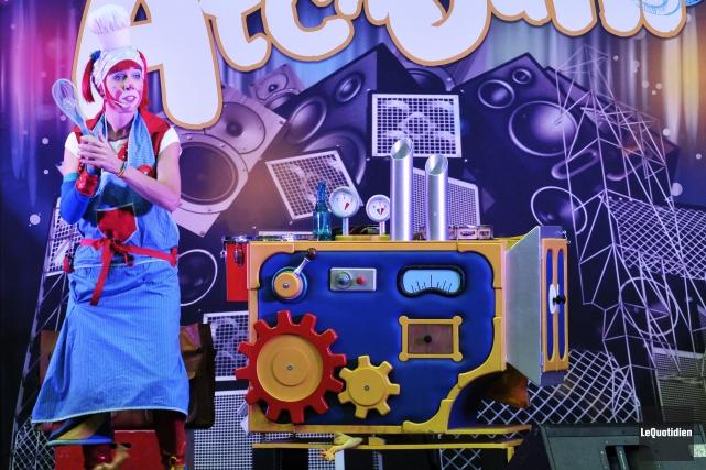 Atchoum le clown réalisera une captation vidéo de... (Archives Le Quotidien, Rocket Lavoie)