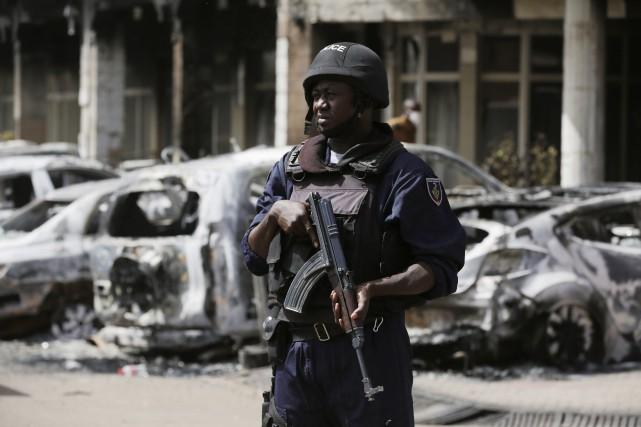 L'attentat au Burkina Faso a fait au moins... (La Presse Canadienne)