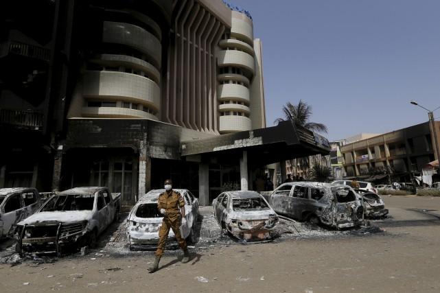 Au moins 29 personnes ont péri dans l'attaque... (Photo Agence France-Presse)