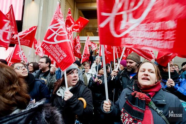 La FAE est l'une des rares organisations syndicales... (Alain Roberge, Archives La Presse)
