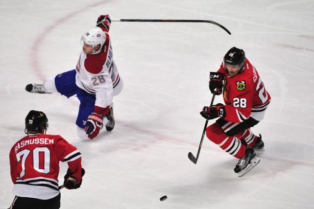 Relisez le clavardage du match entre le Canadien et les Blackhawks de Chicago... (PHOTO REUTERS)