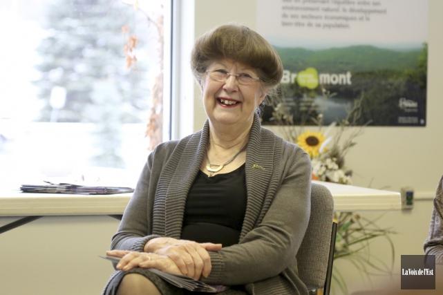 La mairesse de Bromont, Pauline Quinlan, a appris... (Julie Catudal, La Voix de l'Est)