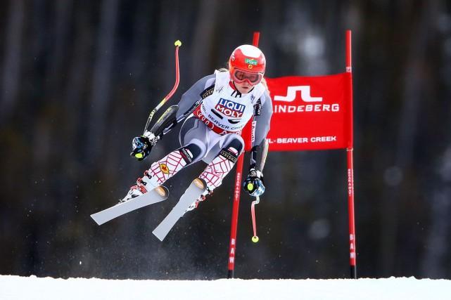 La skieuse alpine Valérie Grenier... (Archives AFP)