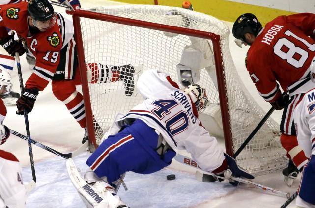 Le Canadien s'est rapidement retrouvé en arrière au... (Associated Press)