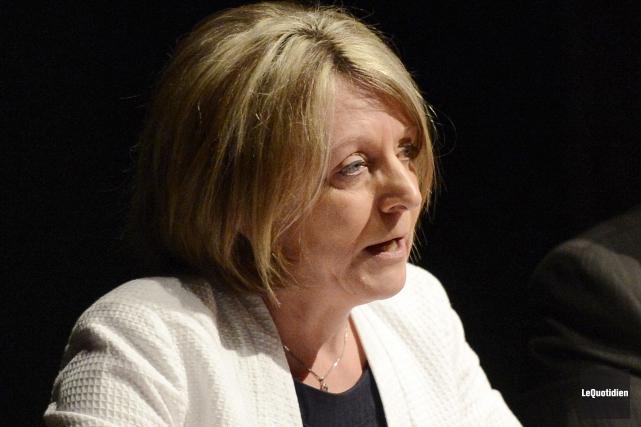 La conseillère municipale Christine Boivin.... (Archives Le Quotidien, Jeannot Lévesque)